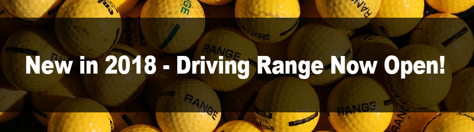 Driving Range Now Open